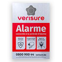 plaquette alarme verisure