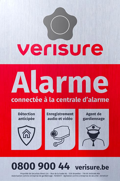 Systeme D Alarme Telesurveille Contre Les Cambriolages Verisure